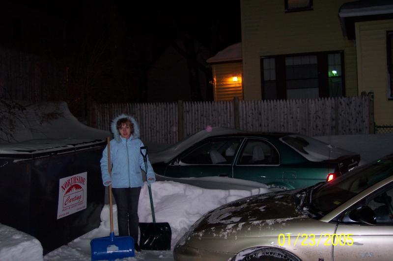 Эпилог. Пока мы веселились в NH Массачусетс был похоронен под снегом...